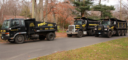 Piro Paving Trucks